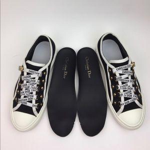 Dior WALK'N'DIOR IN CANVAS sneakers sz 6